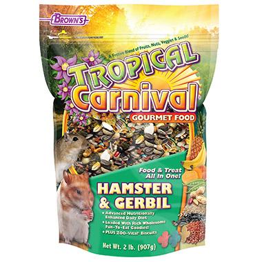 Gourmet Hamster & Gerbil Food