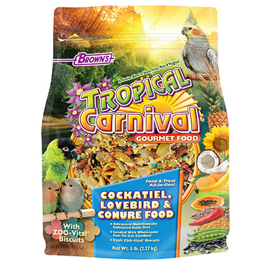 Gourmet Cockatiel Food