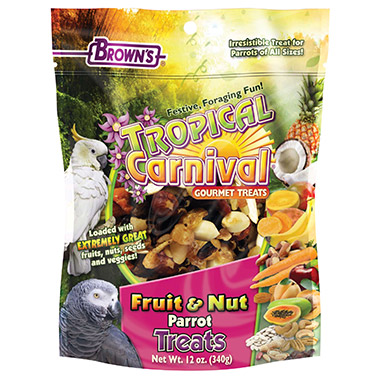 Fruit & Nut Parrot Treats