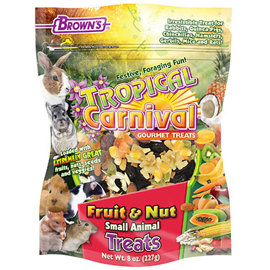 Tropical Carnival Fruit & Nut Small Animal Treat