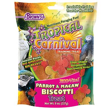 Zoo-Vital Parrot-Macaw Biscotti Treats