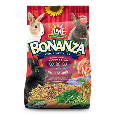 Bonanza Gourmet Diet for Pet Rabbit
