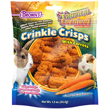 Tropical Carnival Crinkle Crisps with Carrots