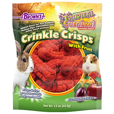 Tropical Carnival Crinkle Crisps with Fruit