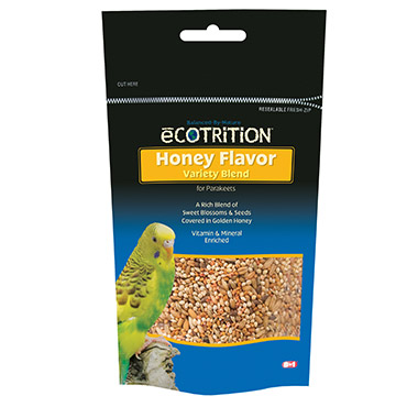 eCOTRITION Honey Flavor Variety Blend for Parakeets