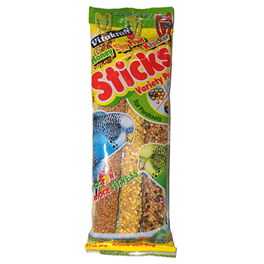 Parakeet Crunch Sticks Variety Pack