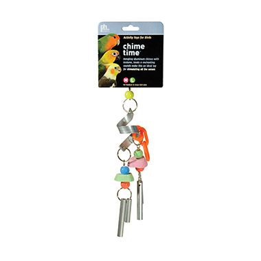 Chime Time Cyclone Bird Toy