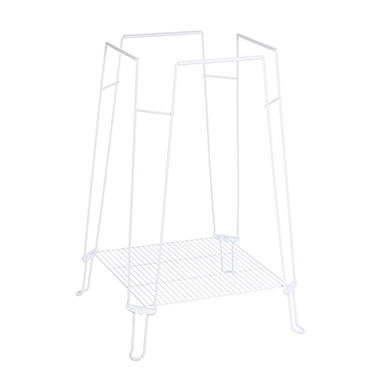 Clean Life Cage Stand - White