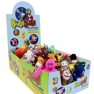Barn Yarn Animals Catnip Toy