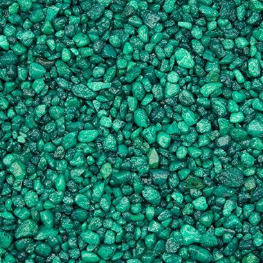 Green Aquarium Gravel