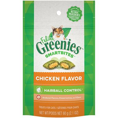 SMARTBITES Hairball Control Chicken Flavor