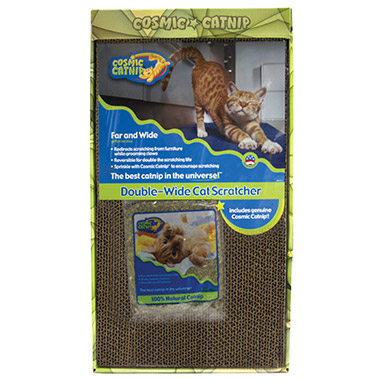 Catnip Far and Wide Double-Wide Cat Scratcher