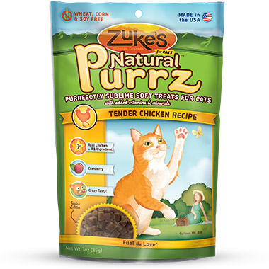 Natural Purrz Chicken Formula
