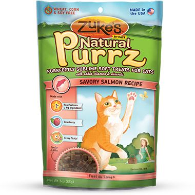 Natural Purrz Salmon Formula