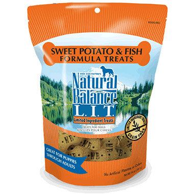 L.I.T. Limited Ingredient Treats Sweet Potato & Fish Formula