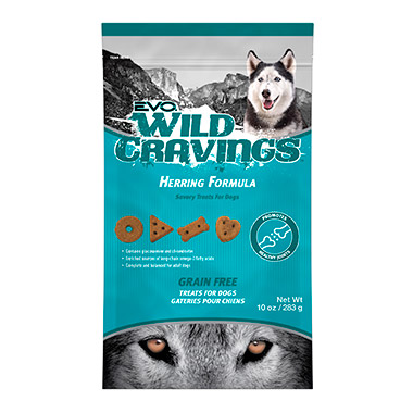 Wild Cravings Herring Formula Dog Treats