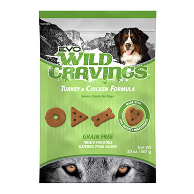 Wild Cravings Turkey & Chicken Dog Treats