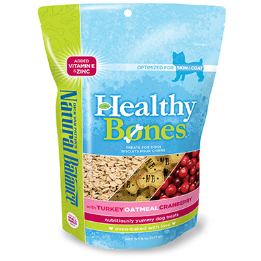 Healthy Bones With Turkey, Oatmeal & Cranberry