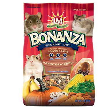 Bonanza Gourmet Diet for Hamster & Gerbil