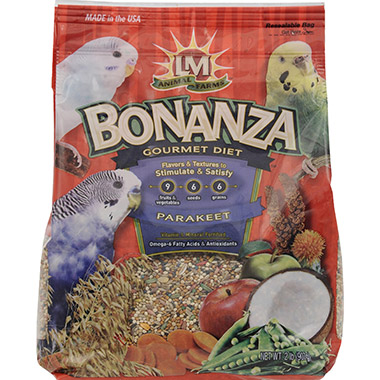 Bonanza Gourmet Diet for Parakeets