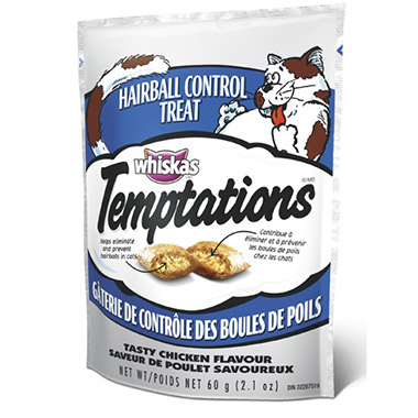 Temptations  Hairball Control Treat - Tasty Chicken Flavour