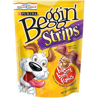 Beggin' Strips Bacon & Beef Flavors