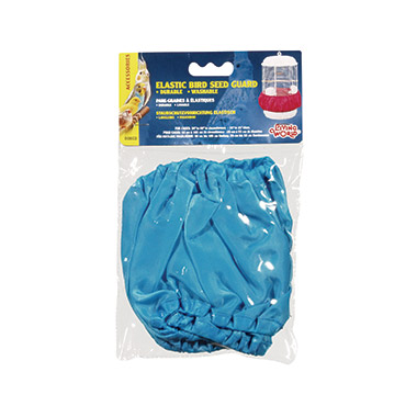 Bird Seed Guard Medium, Sky Blue