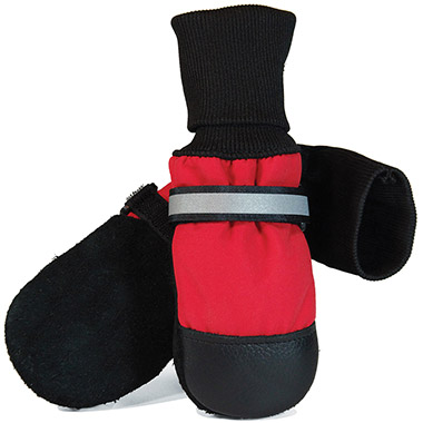Fleece Lined Red Boots