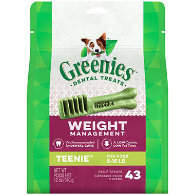 Canine Dental Chews - Weight Management Teenie