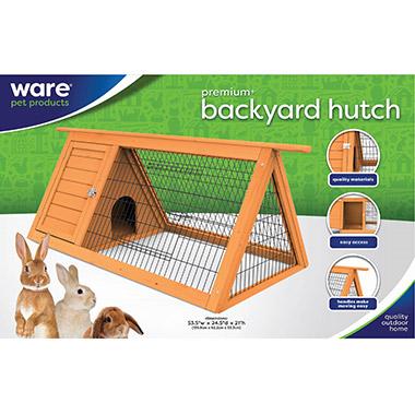 Premium+ Backyard Hutch