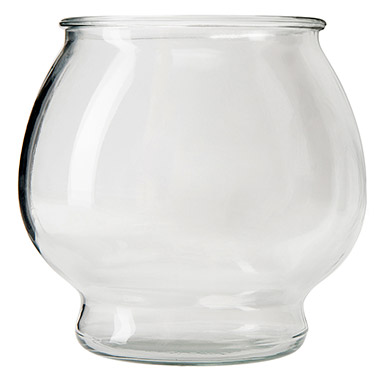 Glass Footed Fish Bowl