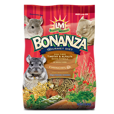 Bonanza Gourmet Diet for Chinchilla