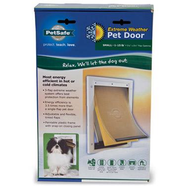 Extreme Weather Pet Door Small 79062 Pet Valu