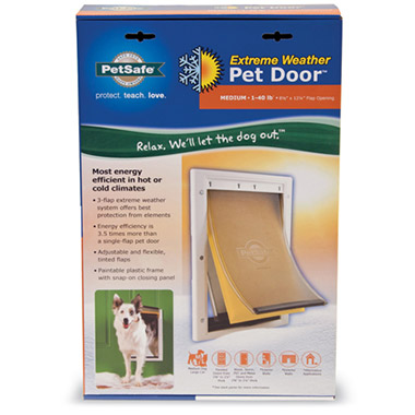 Extreme Weather Pet Door Medium 79063 Pet Valu