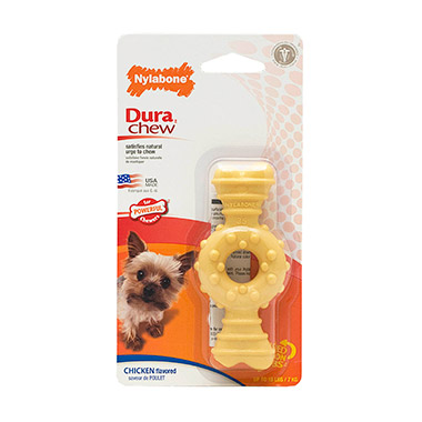 Dura Chew Textured Ring Bone