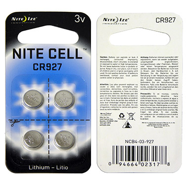 Nite Cell 3V Replacement Lithium Batteries - (4 pack)