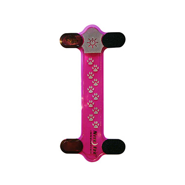 Nite Dawg LED Collar Cover Pink