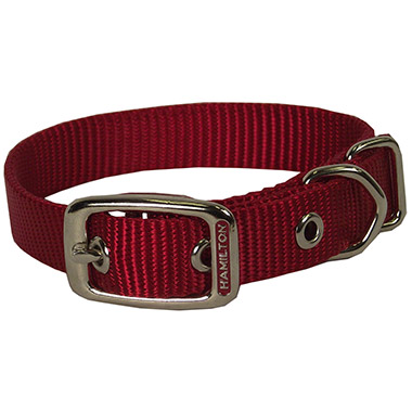 Deluxe Nylon Collar Red