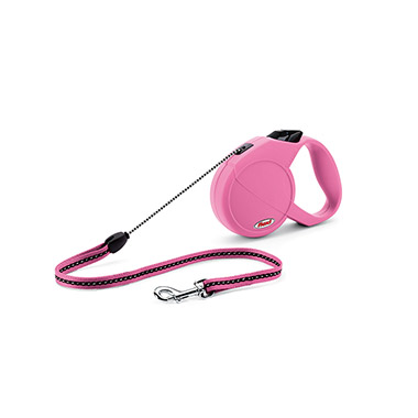 Classic Retractable Dog Leash 16ft - Pink