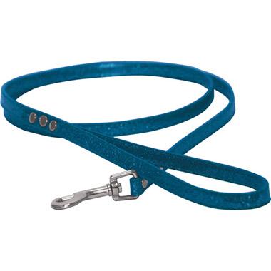 Sparkle Dog Lead 4FT - Blue