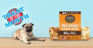 Treat of the Month &#8211; Save $2<br /> Earth Animal Dog Chews