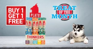 Treat of the Month &#8211; Buy 1 Get 1 Free<br /> Plato Thinkers Sticks
